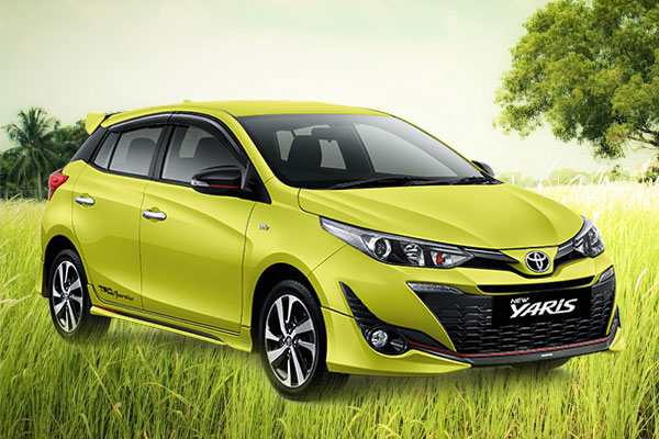 All New Yaris Sport